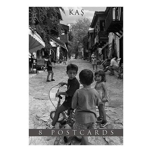 Kas B&W 8 Postcards Booklet