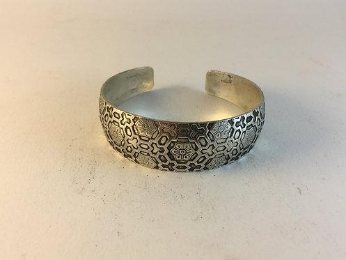 Indian White Metal Bracelet