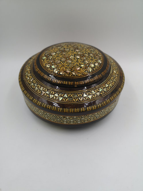 Mother of Pearl marquetry box Cairo