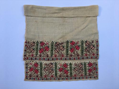 Ottoman Gold Embroidered Cotton Peshkir Towel