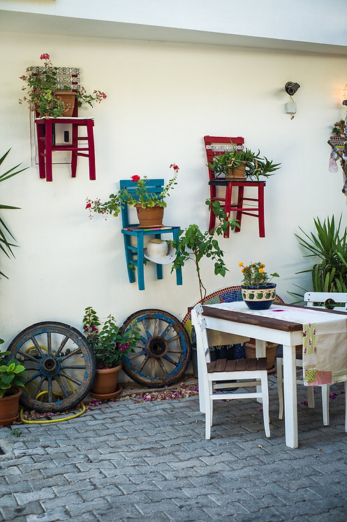 Chairs on the Wall, Kaş