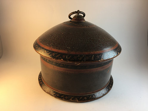 Afghan Nuristan Handmade Old Wooden Spice Box