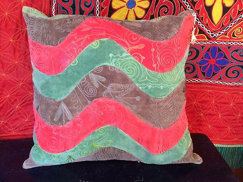 Old Velvet Cushion