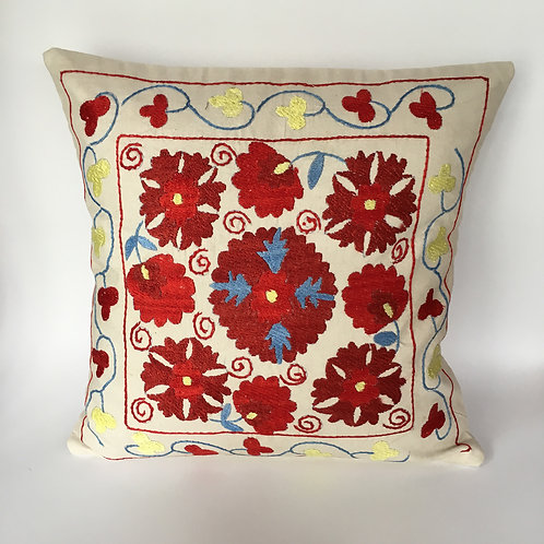Uzbek Floss Silk Cushion
