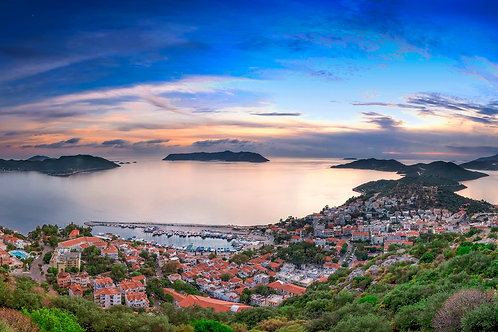 "Postcard ""Kaş Panoramic"""