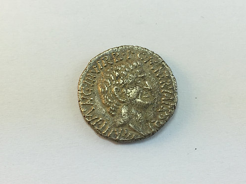 Silver Plated Replica Roman Coin