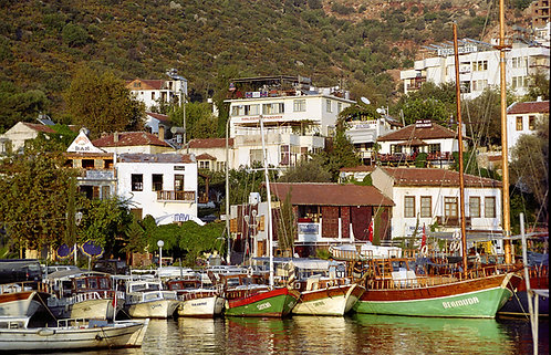 Kaş From The Harbour