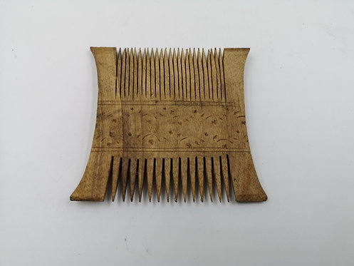 Ottoman wood comb