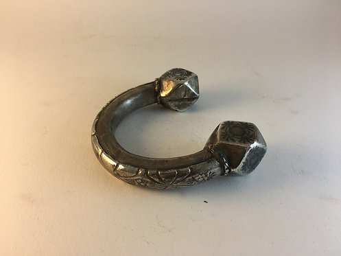 Antique Indian Silver Upper Armlet