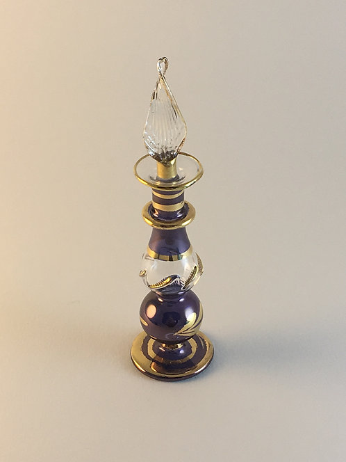 Egyptian Blown Glass Perfume Bottle