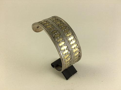 Afghan Kazakh silver Bracelet