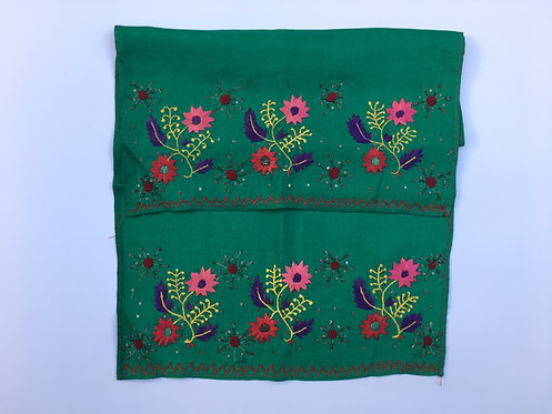 Hand Embroidered Antique Turkish Cotton Peshkir Towel