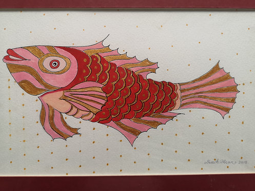 No 4 Red Fish