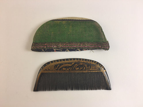Ottoman Wood Beard Comb