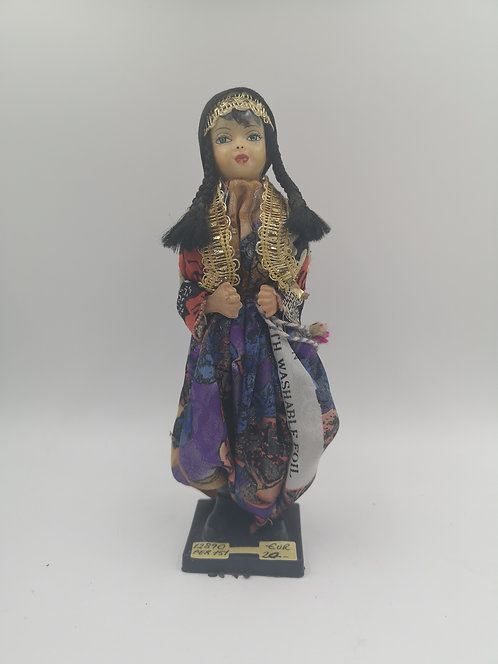 Turkish villager doll