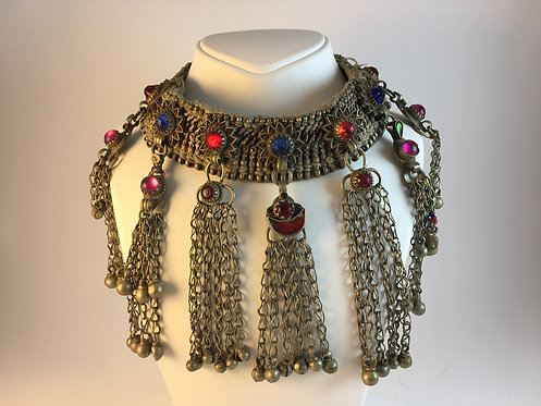 Kutchi Tribal Alpaka Silver Chocker Necklace