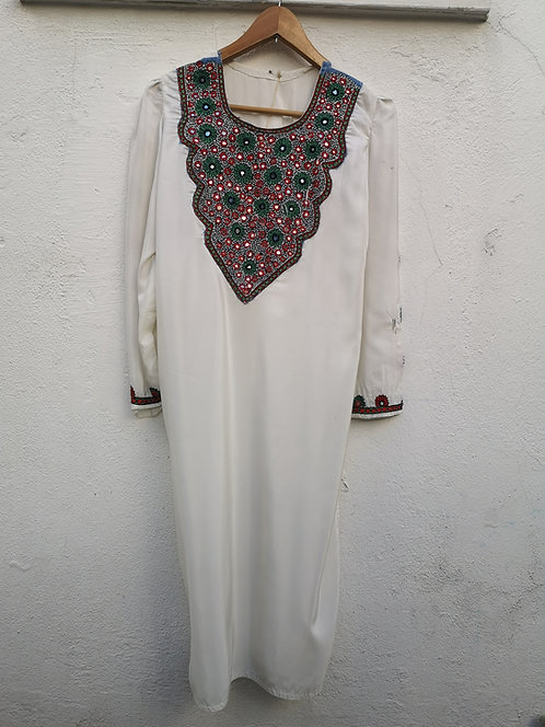 Afghan silk dress