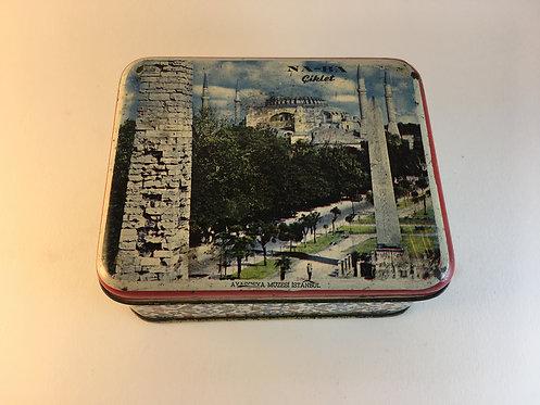 Naba 1960s Hagia Sophia Chewing Gum Tin