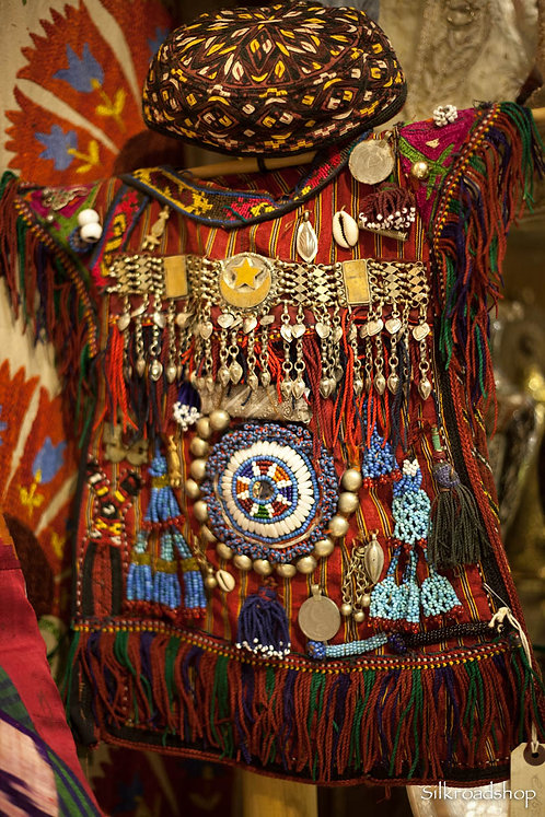 Turcoman Afghan Child Dress