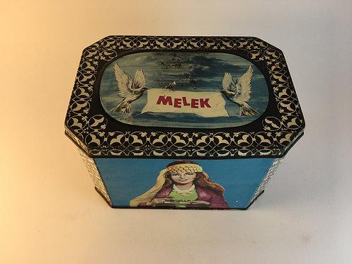 Melek 1970s Turkish Chewing Gum Tin