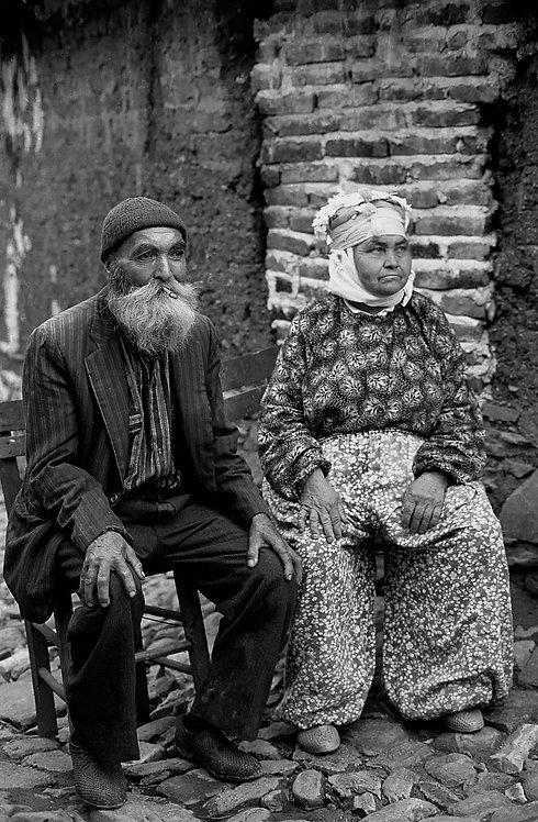 Turcoman Old Couple