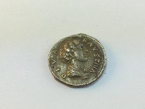 Silver Plated Replica Roman Coin