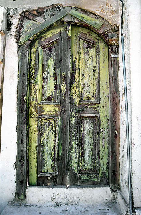 Greek Door in Kas