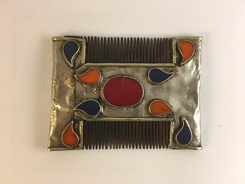 Turcoman Silver Comb