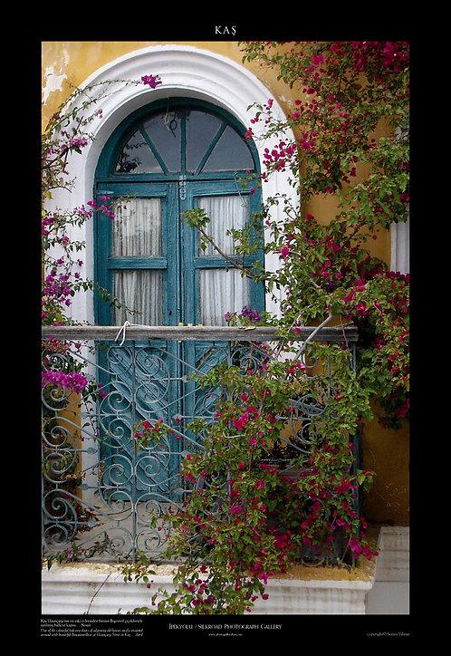 Kas Bougainville Balcony Door