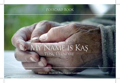 """My Name Is Kaş"" Postcard book"