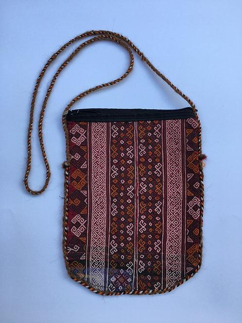 Turcoman Collar Embroidery Side Bag