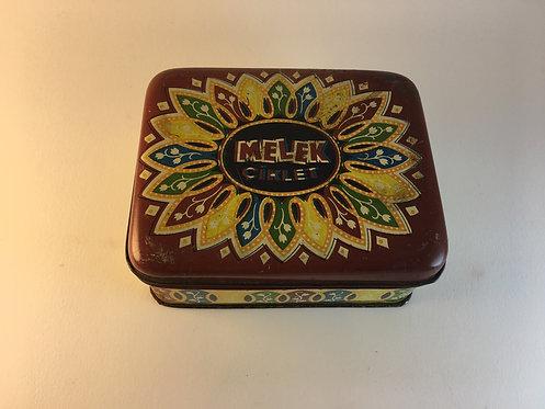 Melek 1960s Chewing Gum Tin