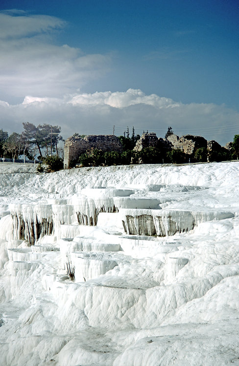Pamukkale cotton White Pools 30x45