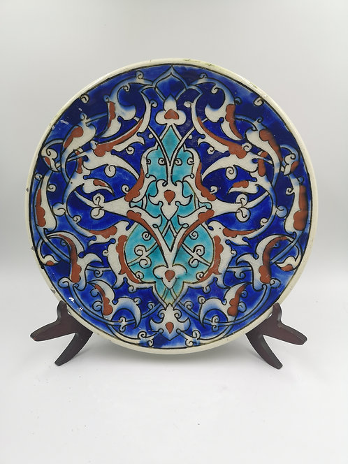 İznik plate made in Kütahya