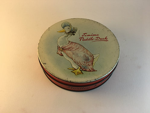 Huntley&Palmers Biscuits Jamime Puddle Duck Tin