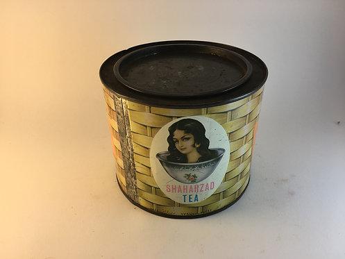 Sharazad Iranian Tea Tin