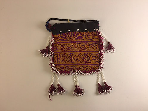 Belouch Beaded Pouch