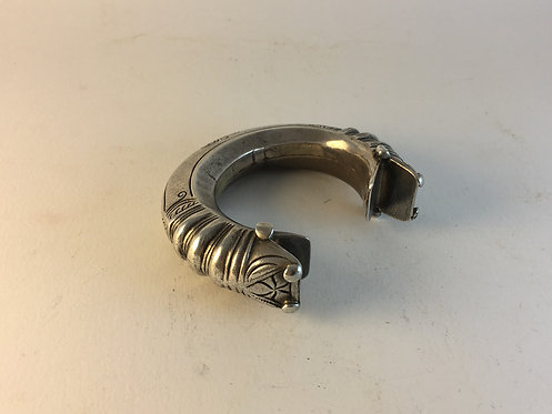 Afghan antique Kutchi Tribal silver Bracelet