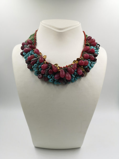 Ruby Turquoise Ottoman necklace
