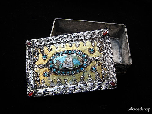 Kazakh Silver Box