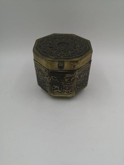 Octagon Brass box