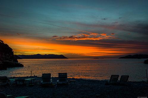 Sunset Big Pebble Beach