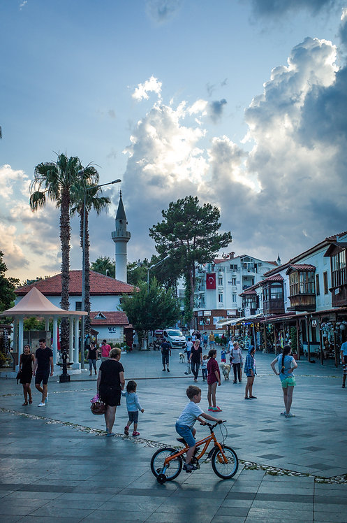 Kaş Mosque Square