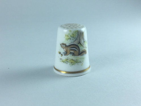 Porcelain Memorial Thimble