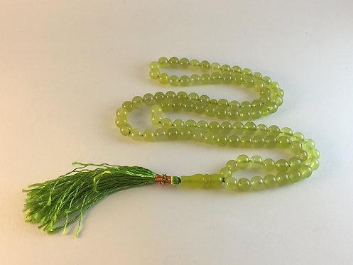 Afghan Jade 99 Prayer Bead