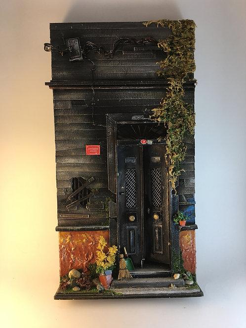 Ortakoy House Door with Wires