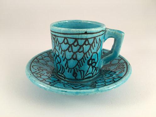 Kutahya Turkish Coffee Cup