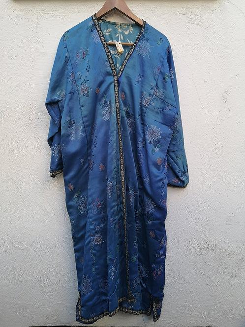 Uzbek silk khaftan