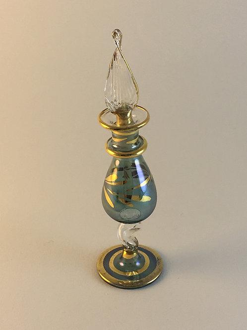 Egyptian Blown Glass Perfume Bottle