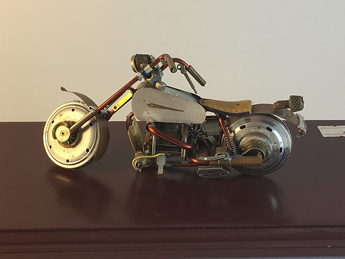 Honda 1970 Motorcycle Made of Old Watch Parts